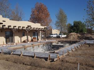 Pool Concrete Deck